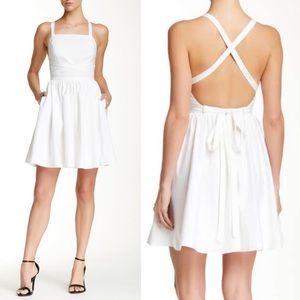 NEW! HALSTON HERITAGE Strappy Crisscross Dress